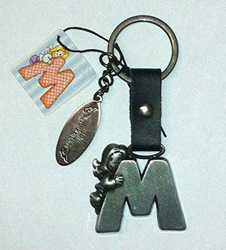 Schutzengel Schlüsselanhänger Buchstabe M
