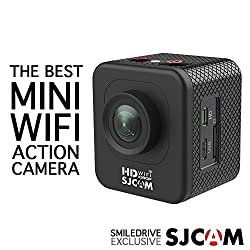 SJCAM M10 WIFI MINI CUBE WIDE-ANGLE SPORTS ACTION CAMERA-1.5 INCH ULTRA HD DISPLAY WATERPROOF 12MP 1080P HD CAMCORDER-CAN ALSO BE A CAR DASH CAMERA