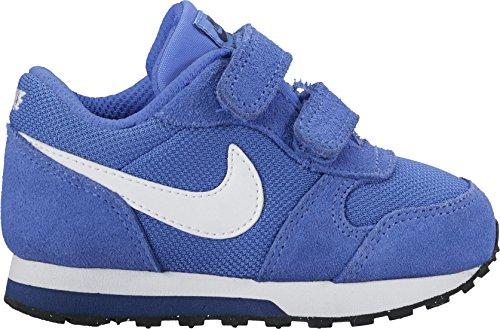 Nike Baby Jungen Md Runner 2 (Tdv) Sneaker, Mehrfarbig (Azul / Blanco / Comet Blue / White / Binary Blue / Black), 23.5 EU (Nike-sortiment)