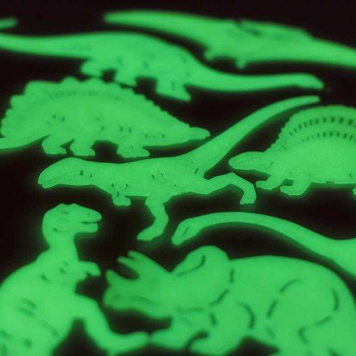 Stick N Glow in the dark Dinosaurier Dekorationen Spielzeug