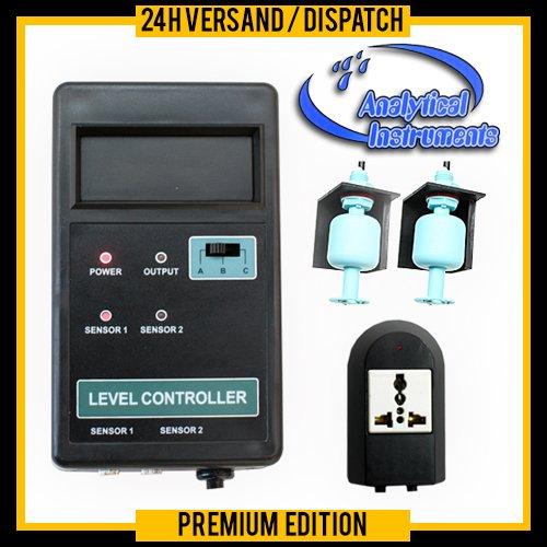 OCS.tec Wasserstandsmelder Wasserstandscontroller Wassermelder Überlaufschutz Nachfüllautomatik Niveaumat Aquarium WS1
