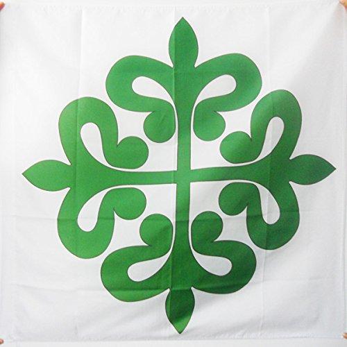 AZ FLAG Flagge ALCÁNTARAORDEN 90x90cm - Kreuz Orden VON ALCÁNTARA Fahne 90 x 90 cm Scheide für Mast - flaggen Top Qualität