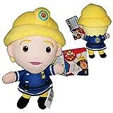 FIRMANSAM Sam el Bombero (Fireman Sam) - Peluche Penny Morris, la única bombera 10'62/27cm Calidad Super Soft
