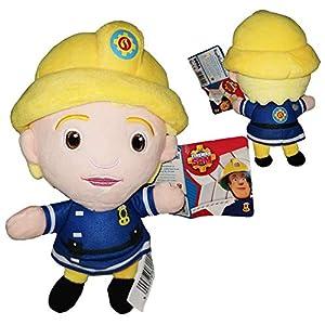 Sam el Bombero (Fireman Sam) - Peluche Penny Morris, la única bombera 10'62/27cm Calidad super soft