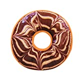Yvelands Weiches Plüschkissen Gefüllte Sitzkissen Sweet Donut Foods Kissenbezug Fall Spielzeug