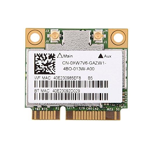 fosa tarjeta WiFi con PCI-E interfaec, 600MBps Dual Band 2.4GHz/5GHz tarjeta Bluetooth WiFi para Dell/Asus/Acer/Lenovo/HP