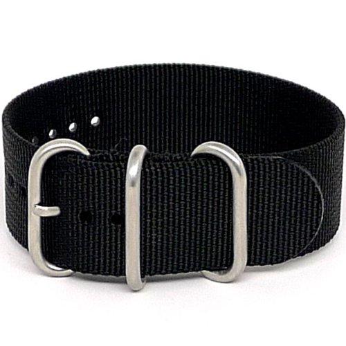 daluca-ballistic-nylon-nato-1-piece-watch-strap-black-matte-buckle-22mm