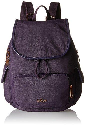 Kipling Damen CITY PACK S Rucksack, Violett (Spark Aubergine), 27x33.5x19 cm - Aubergine Violett