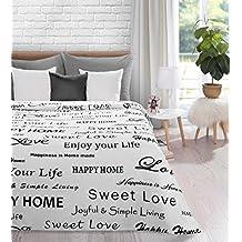 suchergebnis auf f r tagesdecke schwarz wei. Black Bedroom Furniture Sets. Home Design Ideas