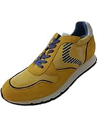 Voile Blanche Sneaker Hombre Liam Dash Amarillo