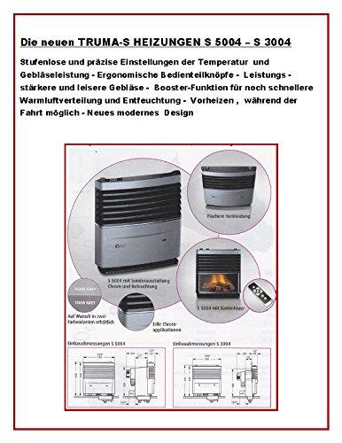 TRUMA S - HEIZUNG 5004 - 30 mbar - Flüssiggas LPG - mit Zündautomatik, Thermostat und Einbaukasten für 1 Gebläse (OHNE VERKLEIDUNG) - Vertrieb Holly® Produkt STABIELO - holly-sunshade ®