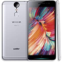 "Wolder WIAM 65 - Smartphone libre de 5.5"" (IPS FHD, 32 GB, 3 GB RAM, 21 MP, Android 6.0 Marshmallow), color gris"