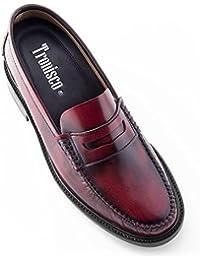 Masaltos Zapatos de Hombre con Alzas Que Aumentan Altura Hasta 7 cm. Fabricados EN Piel