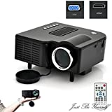 Sinfu For Projector New Portable Multimedia LED Projector Home Cinema Theater Support AV VGA USB SD HDMI Black