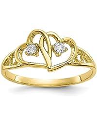 dad8d172e061 Amazon.es  anillos de compromiso - Oro amarillo  Joyería