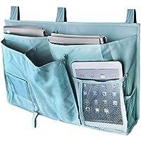 BXT Studenten Betttasche Bett-Utensilo Aufwahrungstasche Bettablage aus 600D Oxford Tuch Aufbewahrungsbehälter Organizer Behalter für Hochbett (Blau)