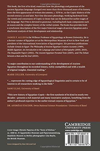 The Ancient Egyptian Language: An Historical Study - Bild 3