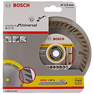 BOSCH 2608615057 – Disco de diamante Standard Universal: 115mm