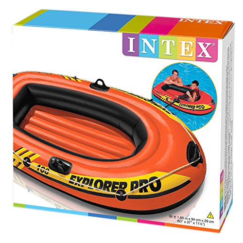Intex Schlauchboot Explorer Pro 100 Phthalates Free, 160 X 94 X 29 cm, 58355NP -
