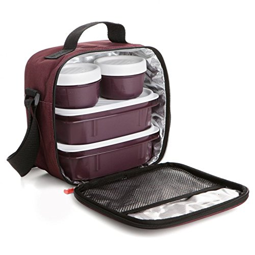 insulated-thermal-cooler-bag-lunch-lunch-bag-bordeaux-red-lunch-bag-cooler-with-4-sturdy-containers