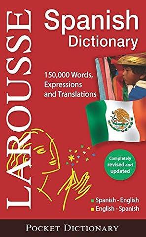 Larousse Pocket Dictionary Spanish-English/English-Spanish (English French Dictionary)