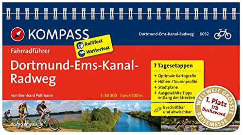 Download Dortmund-Ems-Kanal-Radweg: Fahrradführer mit Routenkarten im optimalen Maßstab. (KOMPASS-Fahrradführer, Band 6032)