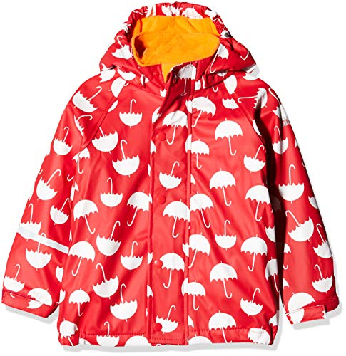 CareTec Kids Rain Jacket with Fleece Lining