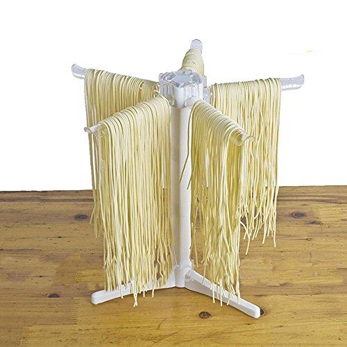 Nudeltrockner zusammenklappbar hausgemachte Nudeltrockner faltbar Spaghetti Pasta Aufhänger Stativ Halter Stand diy Küche Werkzeug - Kunststoff