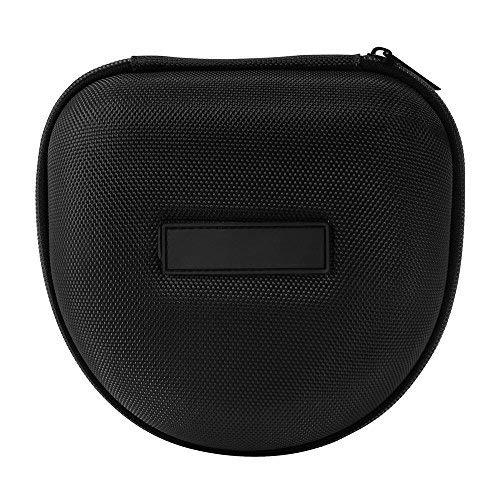 Étui Housse Rigide de Rangement pour Marshall Major I/Major II/Mid Bluetooth on-Ear Headset Casque Portable, EVA Poche de Sac de Stockage pour Les Écouteurs Pliables (Noir)