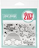 Avery ElleAvery Elle Clear Stamp Set 4-inch x 3-inch-Be A Unicorn, Other, Multicoloured