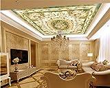 Jonp 3D Tapete Hintergrundbild Wallpaper Personalisierte Fashion Tapeten Fliesen Parkett Marmor Hintergrund Wand Europäischen Decke 3D-Bodenbeläge Malen Wandmalerei Fresko Mural 400cmX300cm