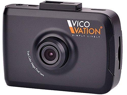 """Vico-TF2 EZ Dashcam Autokamera - Beschleunigungssensor (G-Sensor), WDR und 3G-Rauschreduzierung, Full-HD 2,4"""" Display"""