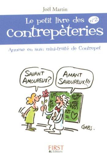 Le Petit Livre de - Les Contrepèteries n°2