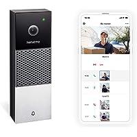 Netatmo Sonnette Vidéo Intelligente WI-FI, Audio, Détection de Personnes, sans Frais d'Abonnement, Camera HD 1080p…
