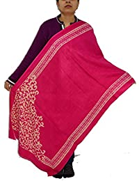 Sanvitta's Jamawar Print Viscose Women's Stole Shawl Wrap Dupatta - B078TFKVCT
