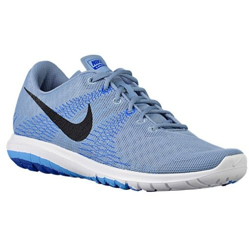 NIKE Flex Fury Mens Running Shoe (12, CL Blue/BLK-Unvrsty BL-GM RYL) (Nike Flex Fury)