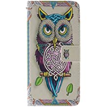 Coffeetreehouse - Bolso pequeño al hombro para mujer Owl búho iPhone 6 /6S