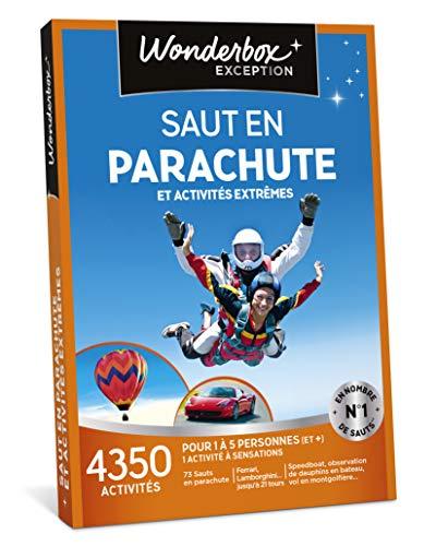 Wonderbox - Coffret cadeau Sensation pour Noel - SAUT EN PARACHUTE ET ACTIVITES...