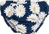 Playshoes Baby-Mädchen Schwimmwindel UV-Schutz Windelhose Margerite, Blau (Marine 11), 74 (Herstellergröße: 74/80)