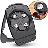 Go Swing Topless Can Opener-Bar Tool- Professional Safety Easy Manual Can Opener with Locking Feature-No Sharp Edge- Effortle