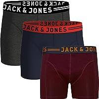 JACK & JONES Herren Boxershorts 3er Pack