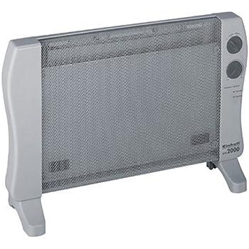 Einhell Wärmewellen Heizung WW 2000 (2000 Watt, Mica Heizelement, 2 Heizstufen, Thermostat, Stand- oder Wandgerät)