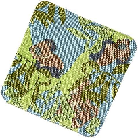 breganwood Organics, Bebé Toalla con capucha, color azul Koala–Outback Collection