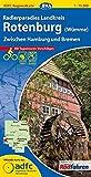 ADFC-Regionalkarte Radlerparadies Landkreis Rotenburg (Wümme) mit Tagestouren-Vorschlägen, 1:75.000, reiß- und wetterfest, GPS-Tracks Download: Zwischen Hamburg und Bremen (ADFC-Regionalkarte 1:75000)