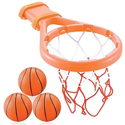 3 Bees & Me Badeset für Basketball, Reifen und Bälle für Jungen und Mädchen Orange (Unter 2 Dollar Baby-spielzeug)