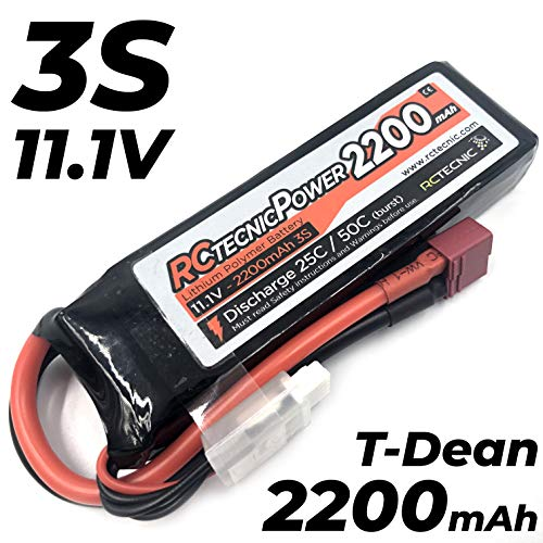 RC TECNIC ⚡ Batería LiPo 3S 2200mah 11.1V 25C -