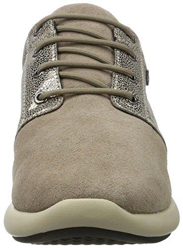 Geox Damen D Ophira A Sneaker Braun (Taupe)