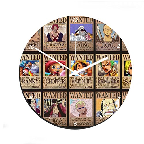 Reloj de pared One Piece - Wanted