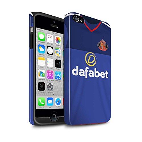 Offiziell Sunderland AFC Hülle / Glanz Harten Stoßfest Case für Apple iPhone 4/4S / Pack 24pcs Muster / SAFC Trikot Home 15/16 Kollektion Torwart