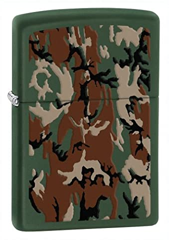 Zippo 50810639 Briquet Camouflage 3,5 x 1 x 5,5 cm